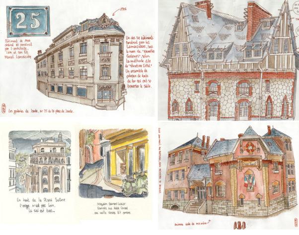 extrait du livre 4 regards sur Clermont-ferrand / Richard Bertrand