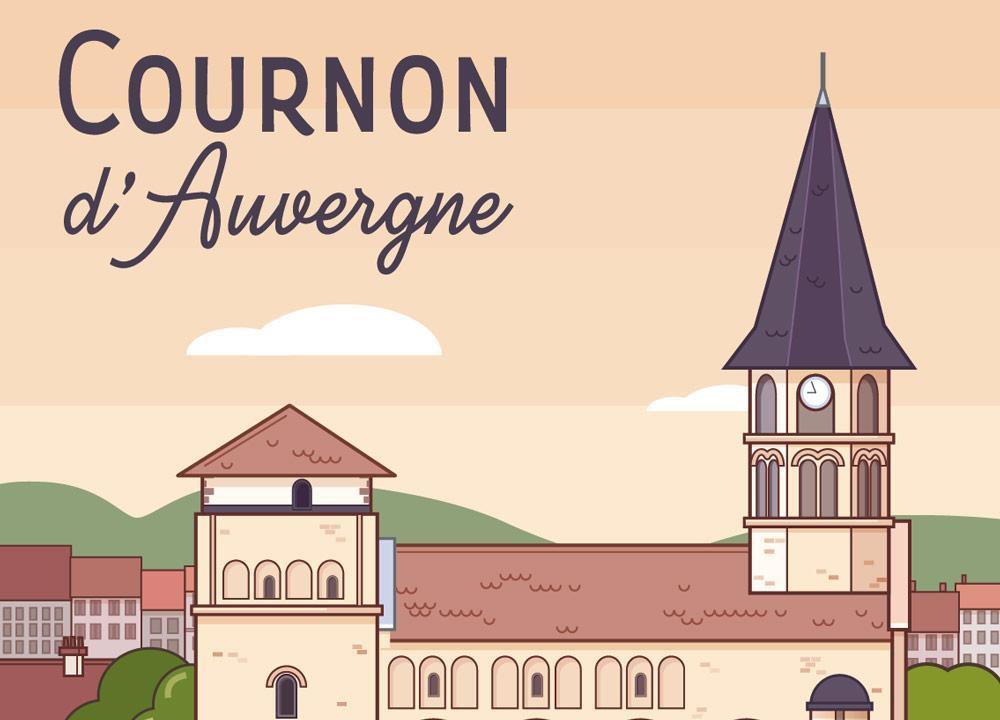 Nouvelle affiche: Cournon d'Auvergne