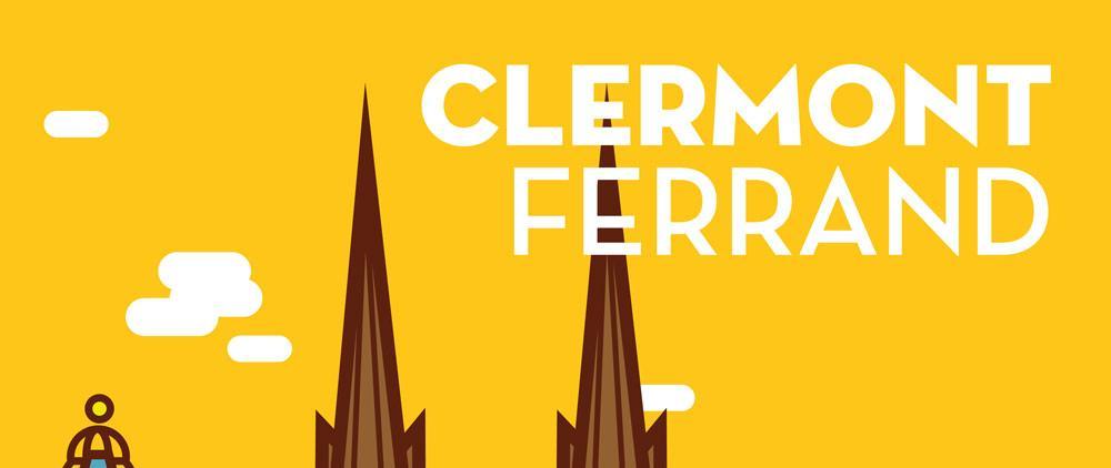 Refonte de l'affiche «Cathédrale Clermont-Ferrand»